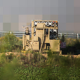 Iron Dome near Haifa Photo: Avishag Shaar-Yashuv