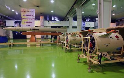 טילי פאתח 110 איראניים (צילום: AP)