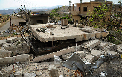 Site of alleged Israeli  strike near Damascus (Photo: EPA)