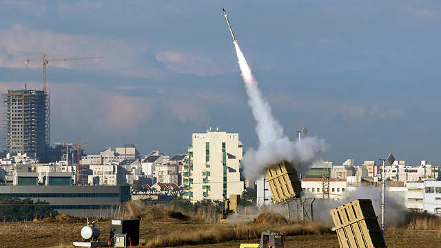Iron Dome battery (Photo: EPA)