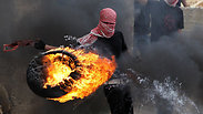 Tire burning illustration Photo: AFP