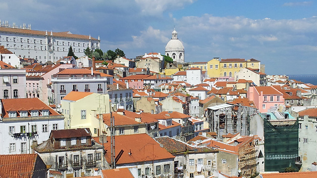The Alfama district in Lisbon (Photo: Ziv Reinstein)