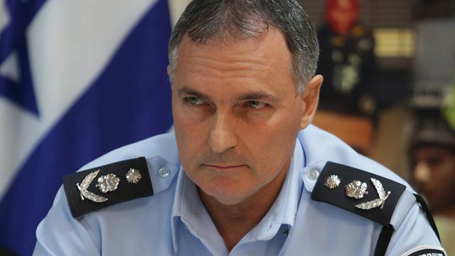 """המפכ""""ל, רב-ניצב יוחנן דנינו. מכה למשטרה (צילום: אלכס קולומויסקי)"""