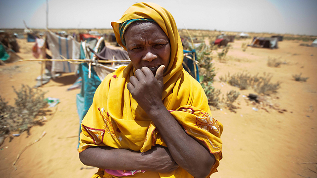 A Darfur refugee (Photo: EPA)
