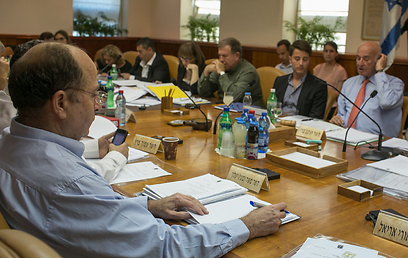 Peri Committee deliberations (Photo: Ohad Zweigenberg)