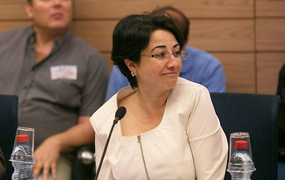 Balad MK Hanin Zoabi (Photo: Ohad Zwigenberg)