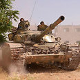 Syrian tank Photo: Reuters