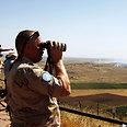 Israel-Syria border region Photo: Reuters