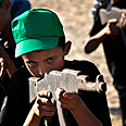 Young enrollee at Hamas summer camp