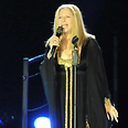 Barbra Streisand in Israel Photo: Yaron Brener