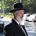 Metzger leaves police station on Thursday Photo: Motti Kimchi