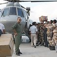Indian army assists flood victims