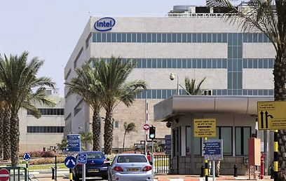 Intel plant in Kiryat Gat (Photo: Tzafrir Aviov)
