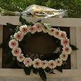 Wreath laid on woman's grave on behalf of Hadassah Medical Center