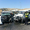 Scene of accident Photo courtesy of Israel Police