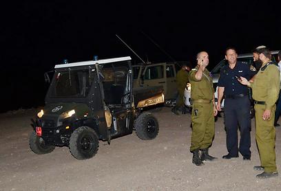כוחות הביטחון, הערב באילת (צילום: מאיר אוחיון)