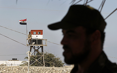 Egyptian outpost near Rafah crossing with Gaza (Photo: AFP)