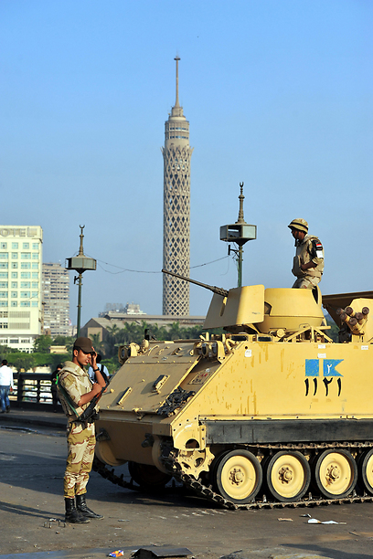 Army in Cairo (Photo: EPA)