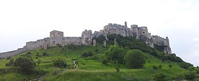 אל תפספסו את הביקור והתצפית מכאן. מבצר ספישסקי (צילום: זיו ריינשטיין) (זיו ריינשטיין)