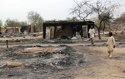 School destroyed by Boko Haram (Photo: AFP)