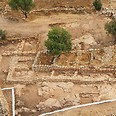 Excavation at Khirbet Qeiyafa Photo: Sky View, courtesy of Hebrew University and Israel Antiquities Authority