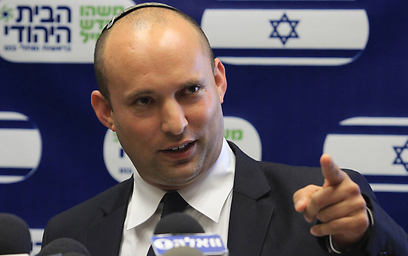 Bayit Yehudi Chairman Naftali Bennett (Photo: Gil Yochanan)