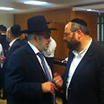 Haredi Mks discuss draft bill