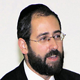 Rabbi David Lau, new Ashkenazi chief rabbi Photo courtesy of Modiin Municipality
