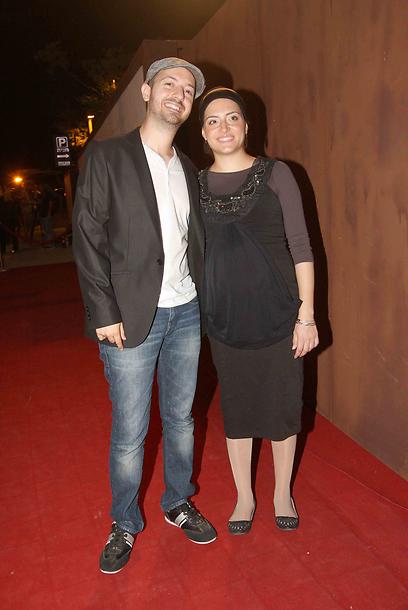 יהודה סעדו ואשתו (צילום: ענת מוסברג)