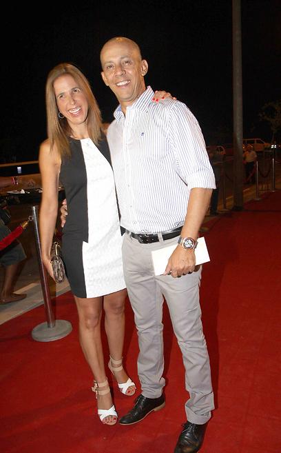 דידי הררי ואשתו מירית  (צילום: ענת מוסברג)