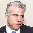 Lapid: Israel shouldn't be portrayed as a serial objector to negotiations Photo: Miriam Tzahi