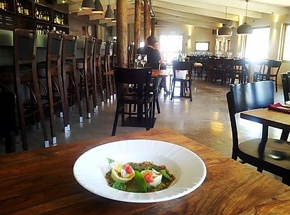 קולינריה היא לא מילה גסה בעמק. מסעדת בלה (צילום: זיו ריינשטיין)