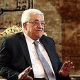 Abbas in Cairo Photo: EPA