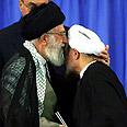 Ayatollah Ali Khamenei with Hassan Rohani Photo: EPA