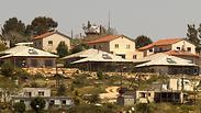 West Bank settlement Photo: AFP