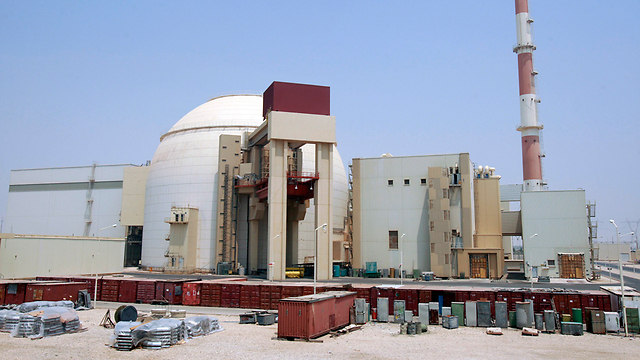 Iranian nuclear plant in Bushehr (Photo: Reuters)