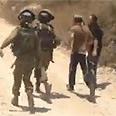 Settlers detained Photo: B'Tselem