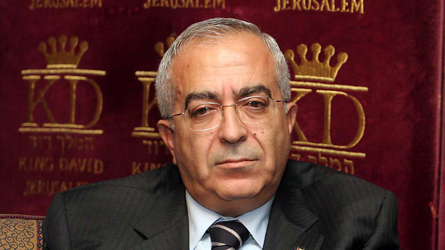 Former Palestinian prime minister Salam Fayyad (Photo: Gil Yohanan)