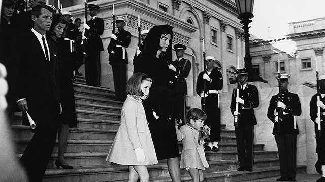 Jacqueline Kennedy at JFK's funeral (Photo: Getty Imags)