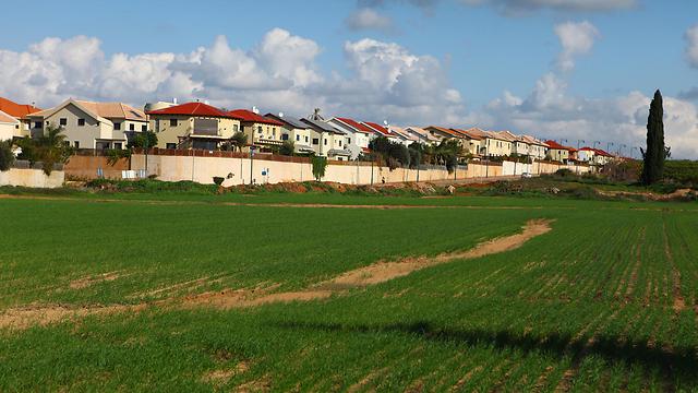 כפר יונה. זולה יותר מהשכנה ממערב (צילום: רמי סיני)
