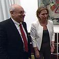 Livni and Molcho Photo: GPO
