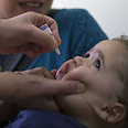 Vaccination in process Photo: AFP