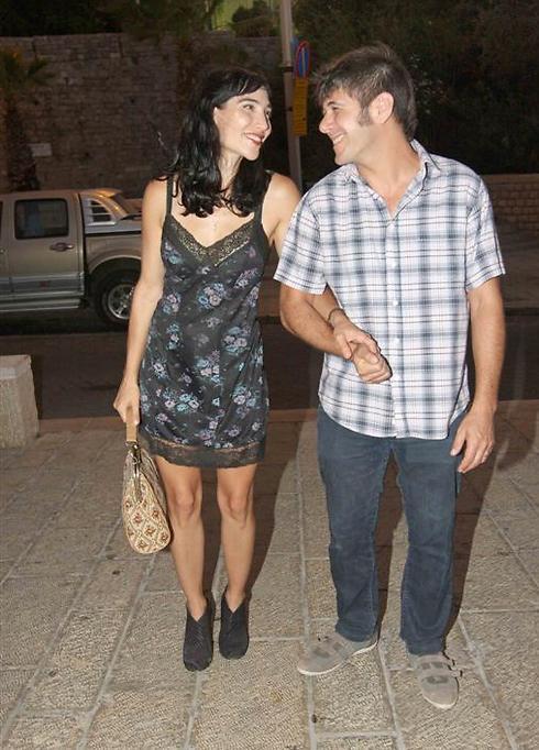 ורד פלדמן ובעלה סזר ביגר (צילום: ענת מוסברג)