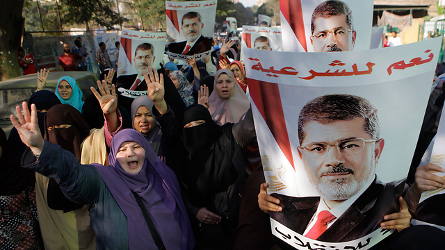 Morsi supporters in Cairo (Photo: AP)