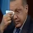 Erdogan weeping