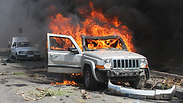 An explosion in war torn Tripoli, Lebanon Reuters