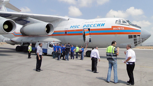 Russian plane in Latakia (Photo: AFP)