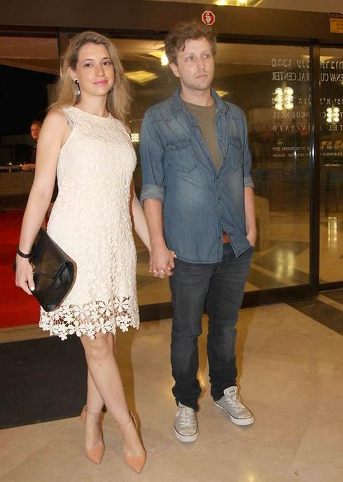 ליאור דיין ורוני אשתו (צילום: ענת מוסברג)