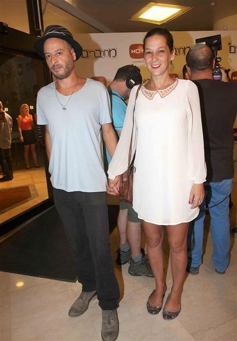 הזוג הרשמי של מחוברים. דנה ספקטור ורן שריג (צילום: ענת מוסברג)