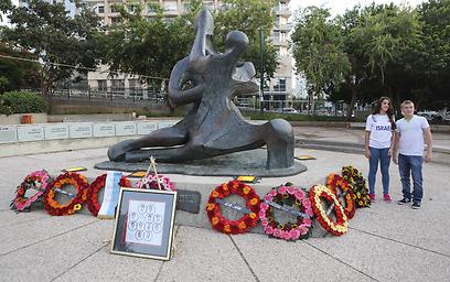 Ceremonies held in honor of Israeli victims of 1972 Munich massacre (Photo: Oz Mualem)